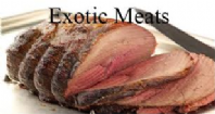 Exotic Meats